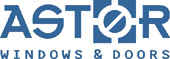 (astor impact windows and doors logo)