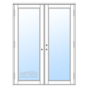a thumbnail of an impact-resistant french door
