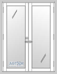 Pgt impact french doors fd101 and fd750 astor impact - Standard width of exterior french doors ...